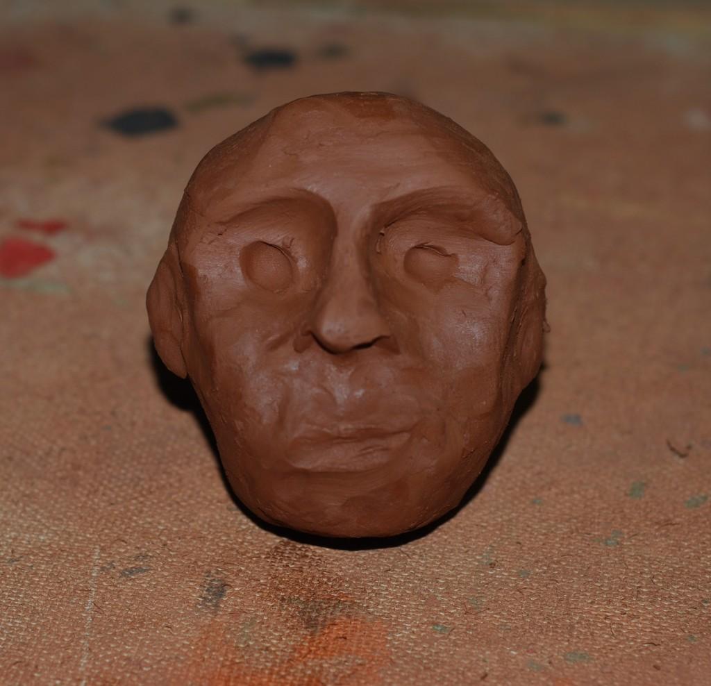 Как из пластилина сделать лицо человека