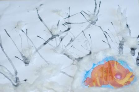 Тематические картинки животные зимой