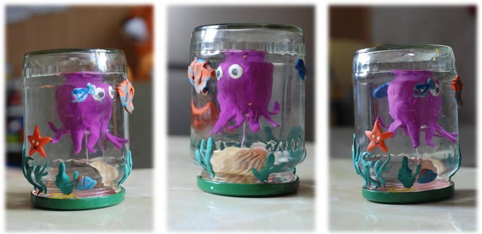 Медуза в банке