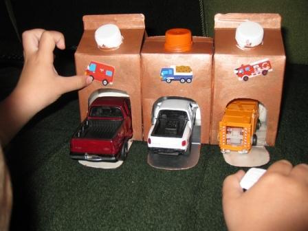 Машинки своими руками из коробки из под сока 85