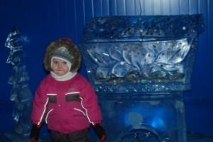 Прогулка по леднику Деда Мороза