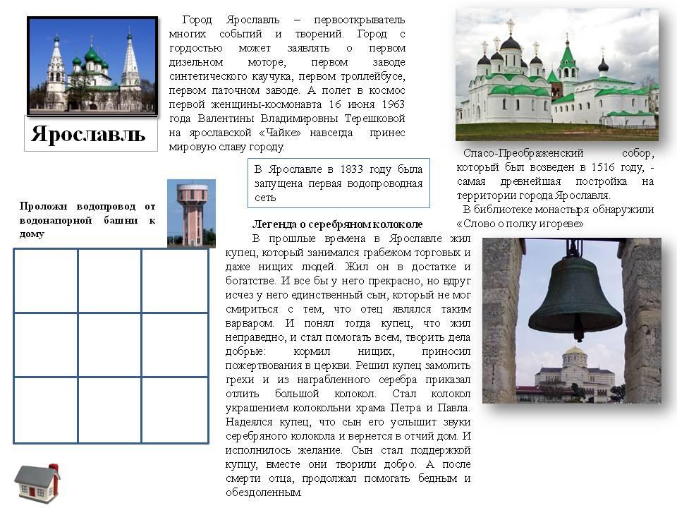 изучаем Ярославль