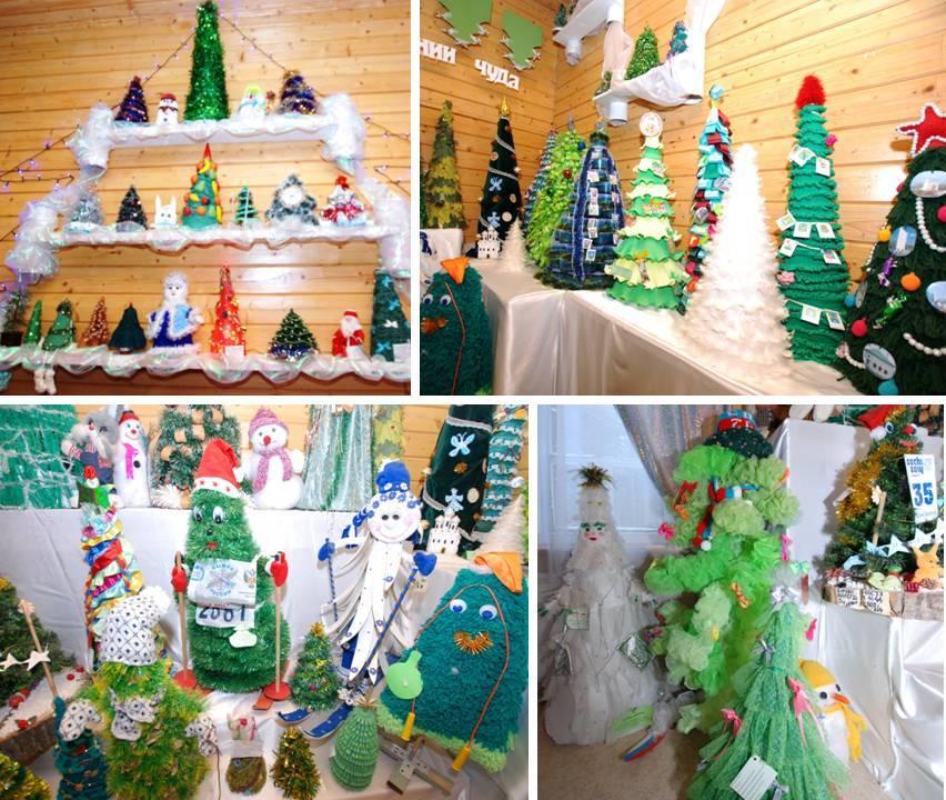 елки своми руками для Деда Мороза