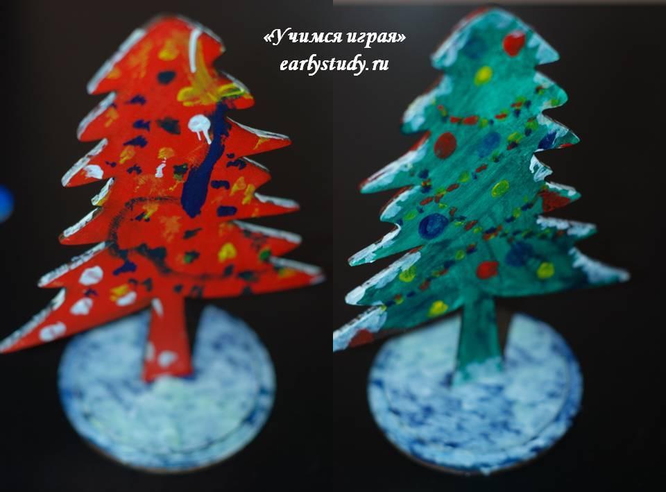 декорации елка