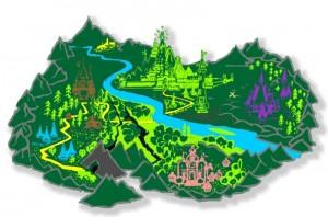 Волшебная страна карта