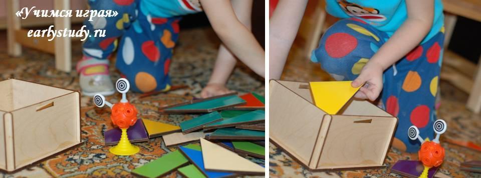 игры с квадратами Никитина
