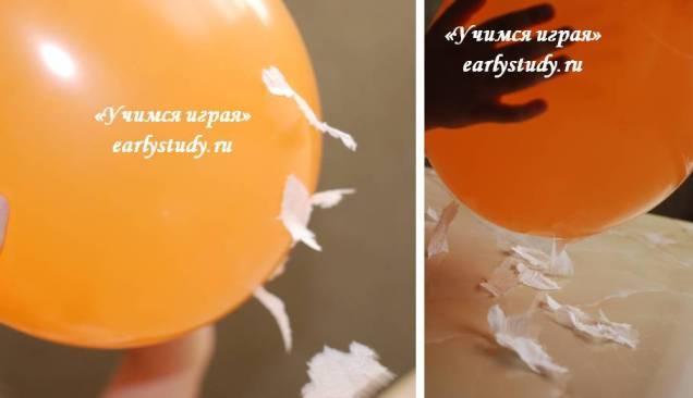статическое электричество. опыт с шариками
