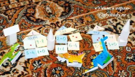 игры по математике и геометрии с дошкольниками