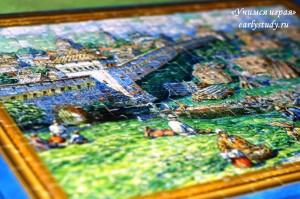 Творчество по картине Васнецова «Лубяной торг на Трубе»
