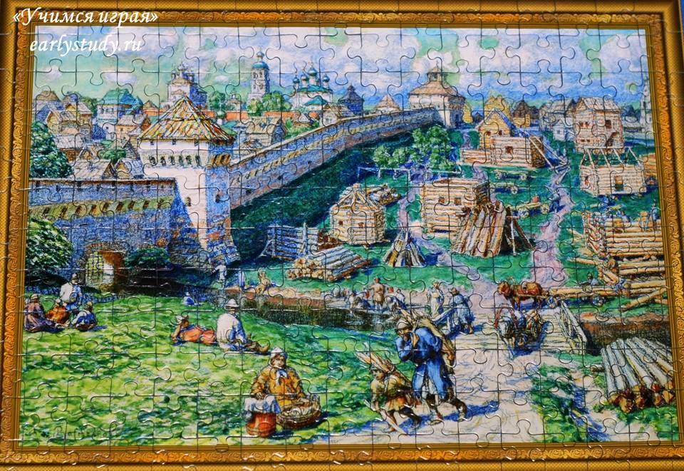 Лубяной торг на Трубе Васнецов
