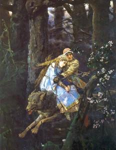 Иван Царевич на сером волке
