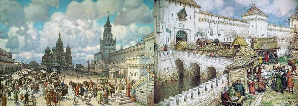 картины Аполлинария Васнецова