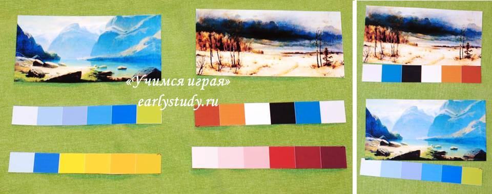Цвета и оттенки в картинах Алексея Саврасова
