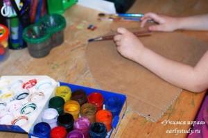 Весна в детском творчестве