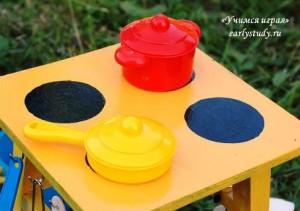 Детская кухня – дачный вариант