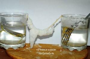 выращиваем сталактит своими руками