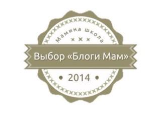 Награда Блоги Мам 2014