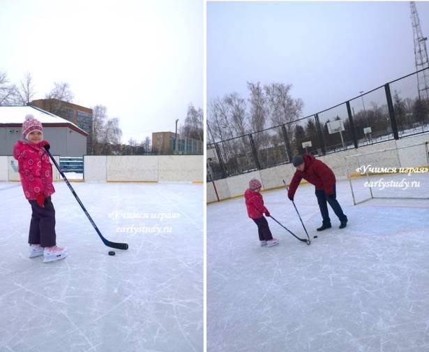Зимние забавы или во что играть с ребенком на прогулке