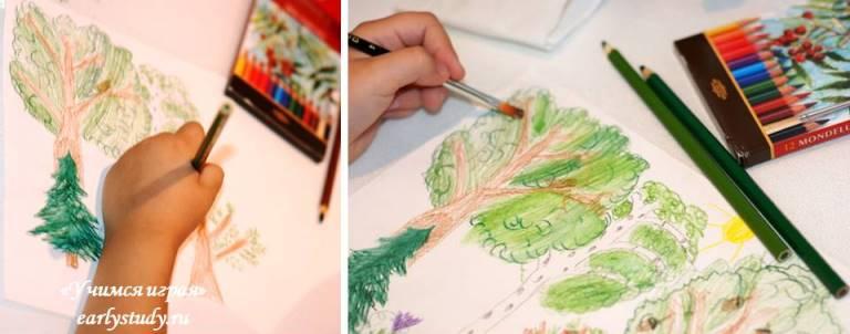 Картинки карандашом беречь природу