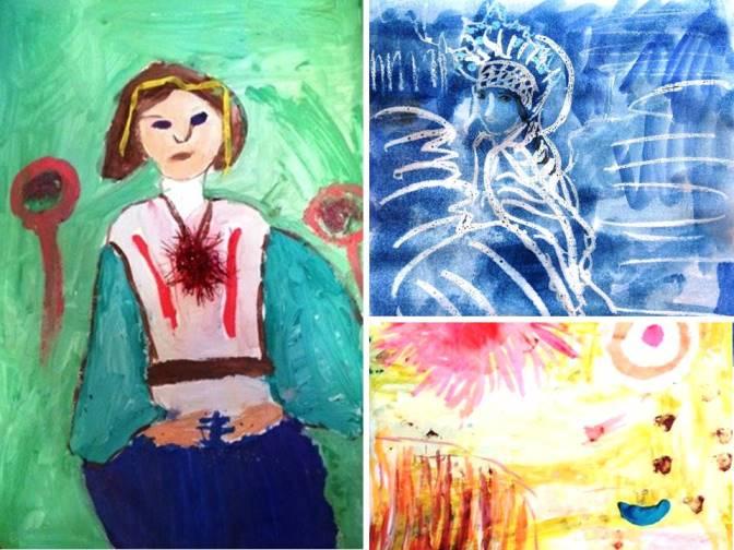 цвет в картинах художников