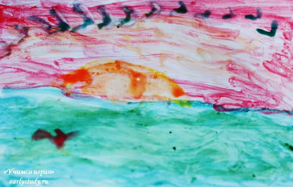 Рисование яичной темперой