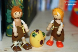 Тематическое занятие «В поисках яйца динозавров»