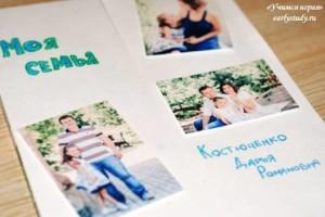 Лэпбук «Моя семья»
