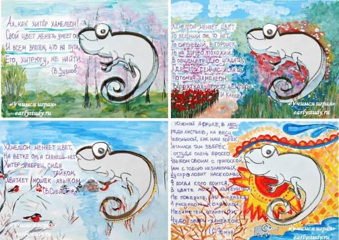 Книга для изучения цвета «Хамелеон»